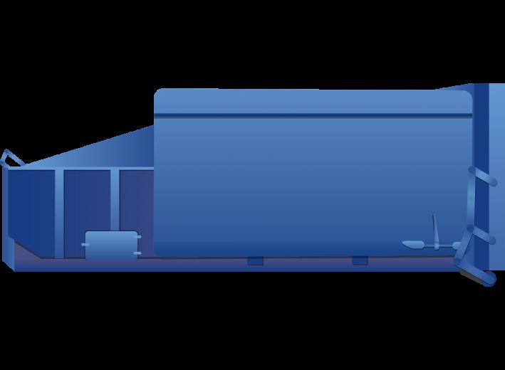 10 Papier/kartonBedrijfsafval Perscontainer